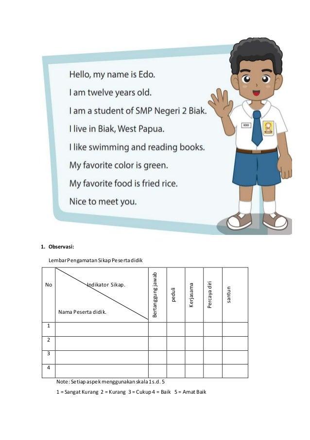 Rpp Bahasa Inggris Sd Greeting Contoh Perkenalan Dalam Bahasa Inggris Contoh Perkenalan Dalam