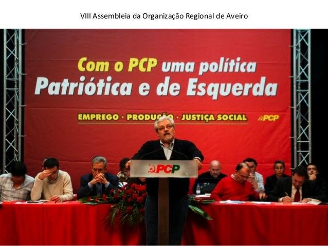 VIII Assembleia da Organização Regional de Aveiro