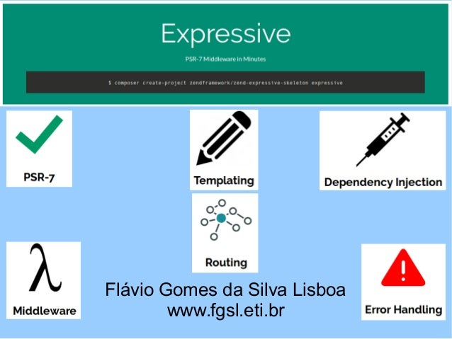 Flávio Gomes da Silva Lisboa www.fgsl.eti.br