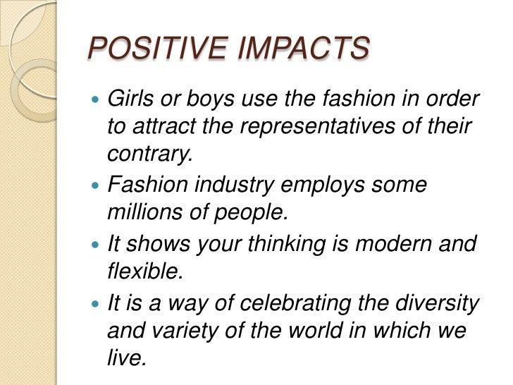 fashion industry 3 essay