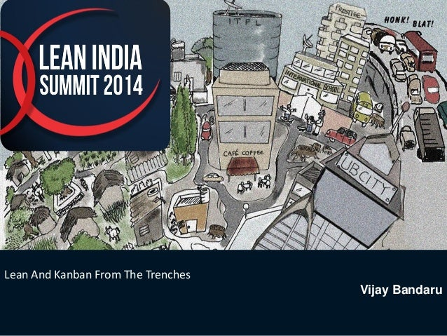 1  Lean And Kanban From The Trenches  Vijay Bandaru