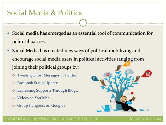 social and political discourse How does social media use influence political participation and civic engagement social influence and political discourse has focused on the use of social.