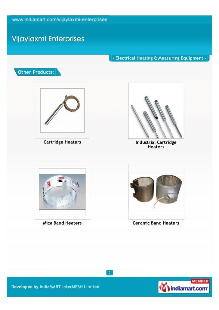 Measuring Electrical Products : Vijaylaxmi enterprises pune electrical heating