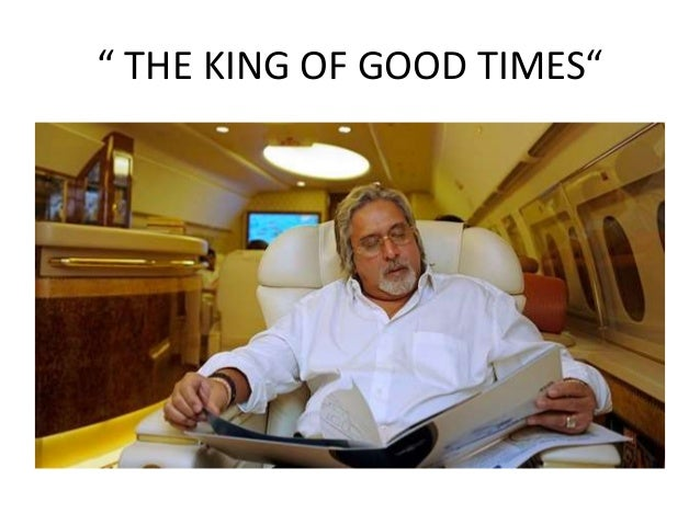 """"""" THE KING OF GOOD TIMES"""""""