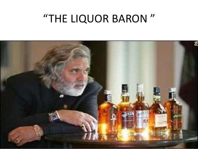 """THE LIQUOR BARON """