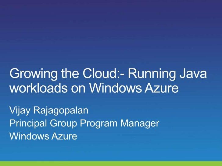 Windows Azure                                    Windows Azure  Command-Line                                     Tools for...