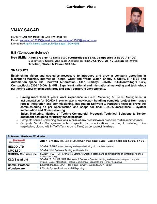 Vijay sagar resume
