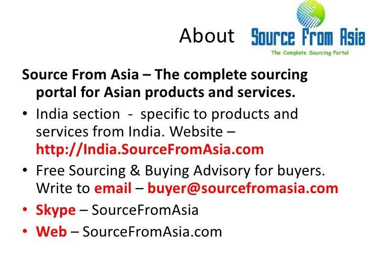 Vijayshree exports  source fromasia Slide 3