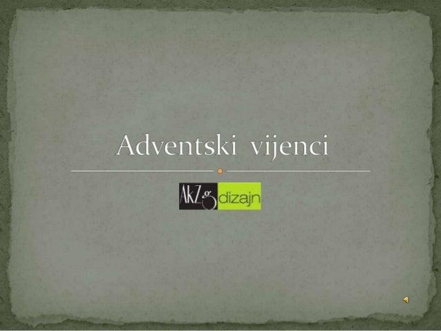 Adventski vijenci
