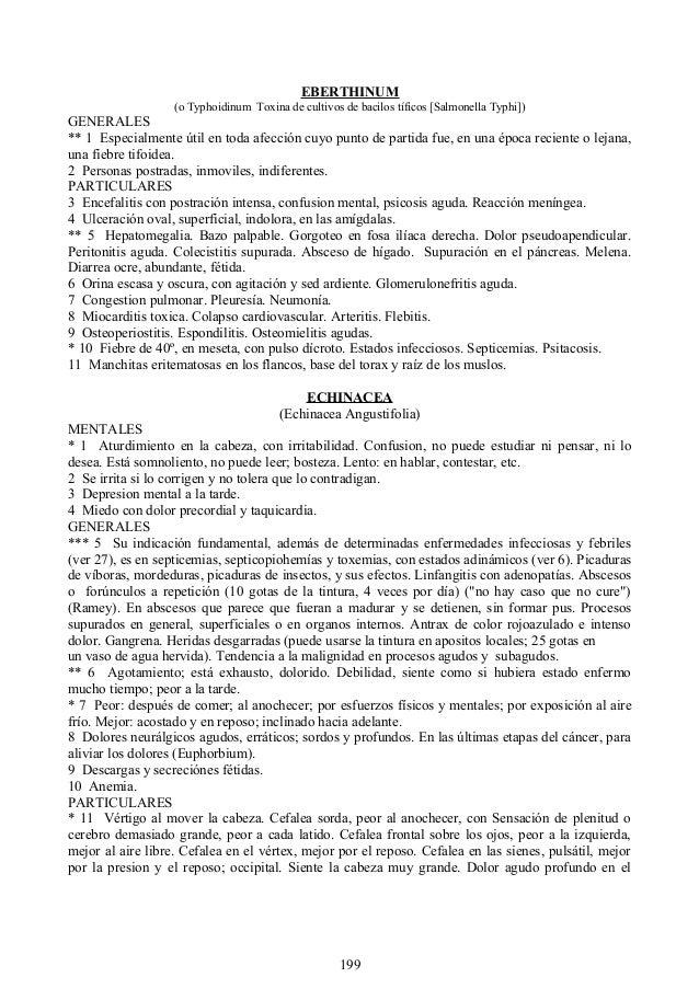 EBERTHINUM (o Typhoidinum Toxina de cultivos de bacilos tíficos [Salmonella Typhi]) GENERALES ** 1 Especialmente útil en t...