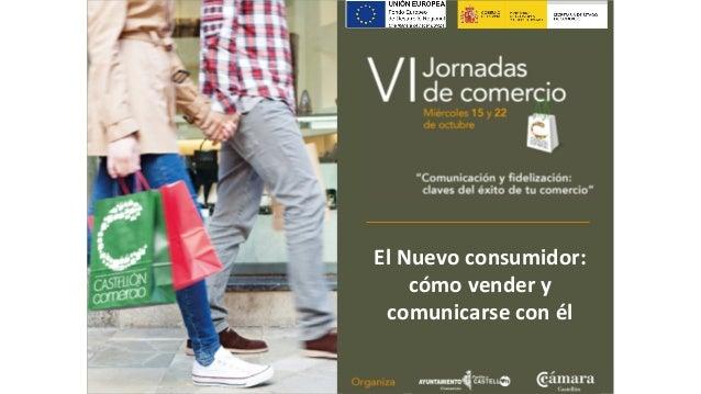 """VI Jornadas  de comercio  Miércoles 15 y 22  de octubre  !  """"Comunicación y fidelización:  claves del éxito de tu comercio..."""