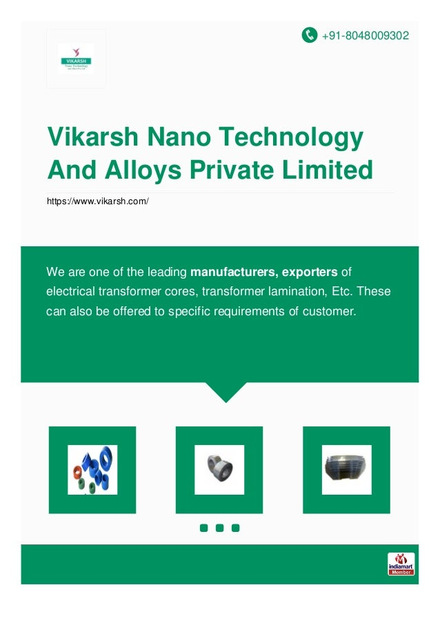 +91-8048009302 Vikarsh Nano Technology And Alloys Private Limited https://www.vikarsh.com/ We are one of the leading manuf...