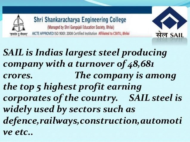 essay on bhilai steel plant