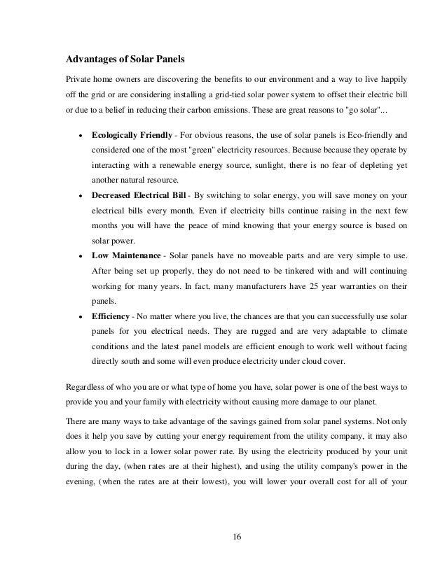 Solar Tree Seminar Report Pdf