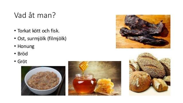 vad åt vikingarna för mat