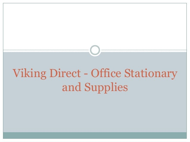 Viking Direct - Office Stationary  and Supplies