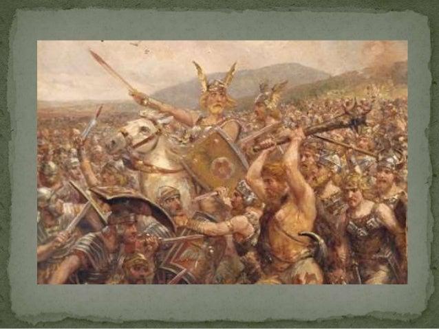  Germaanse stammen  vestigen zich als  foederati in het  Romeinse Rijk   Moeten zich dan wel  onderwerpen aan  Romeinse ...