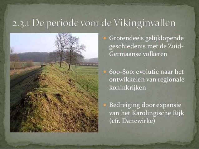  879: Vikinggroepen die uit Engeland zijn verjaagd ontschepen te  Boulogne en Calais en trekken al plunderend door de Ijz...