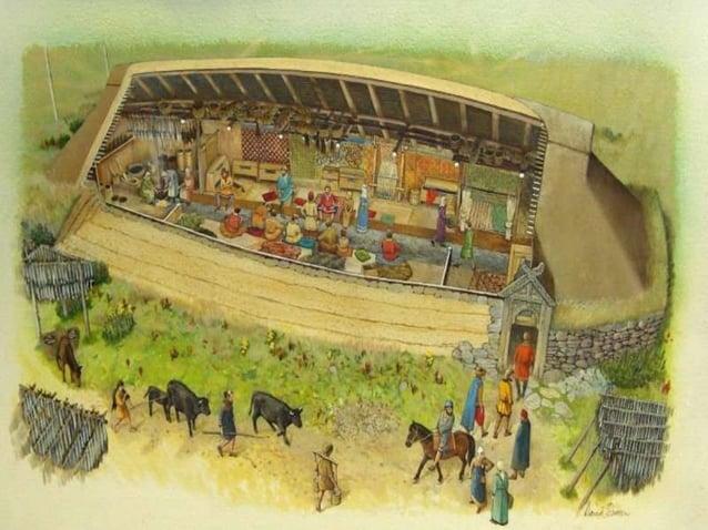 In meeste huizen werd zowel geleefd als gewerkt in  hetzelfde vertrek  huizen van hout en leem stonden dicht op elkaar  Hu...