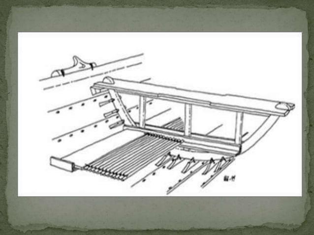 Kling werd verstevigd d.m.v. damasceren:  techniek waarbij staven koolstofarm ijzer met  ingewikkelde techniek werden vers...