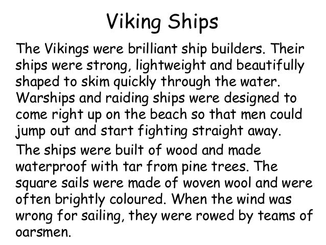 Viking Longship Facts For Kids
