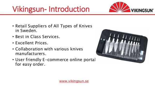 Online Knives Store in Sweden-Vikingsun Slide 2