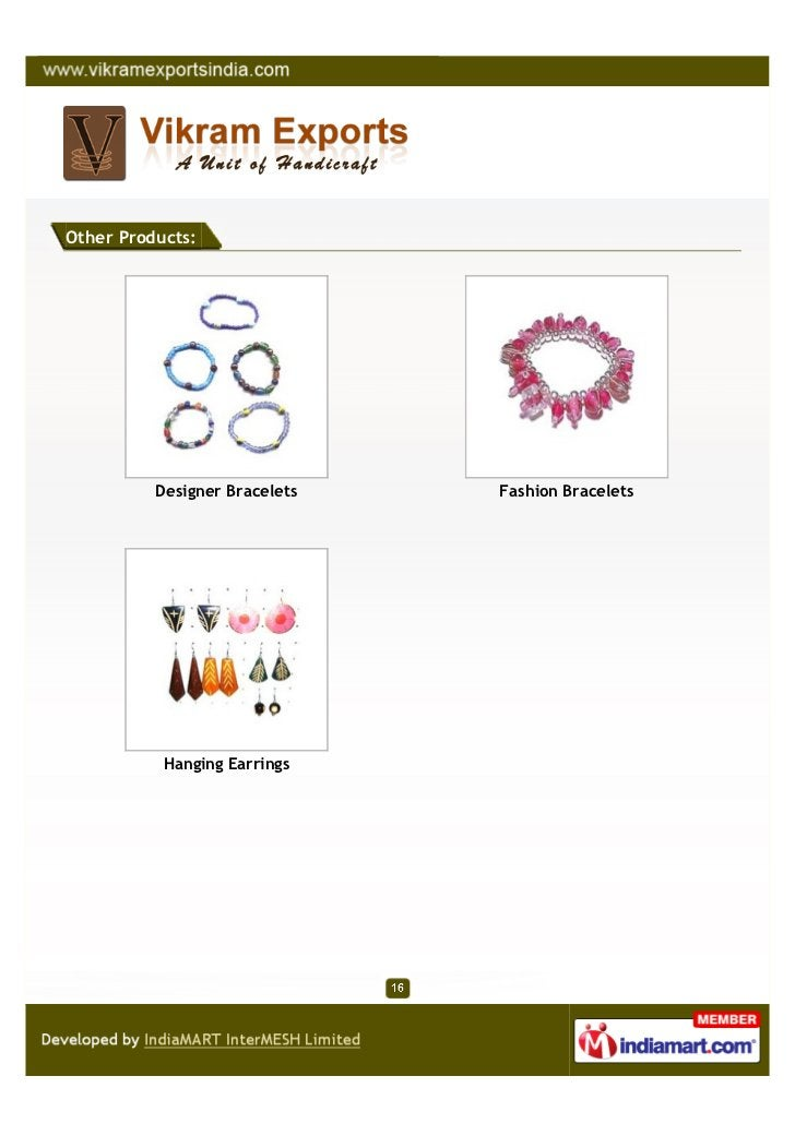 Other Products:          Designer Bracelets   Fashion Bracelets           Hanging Earrings
