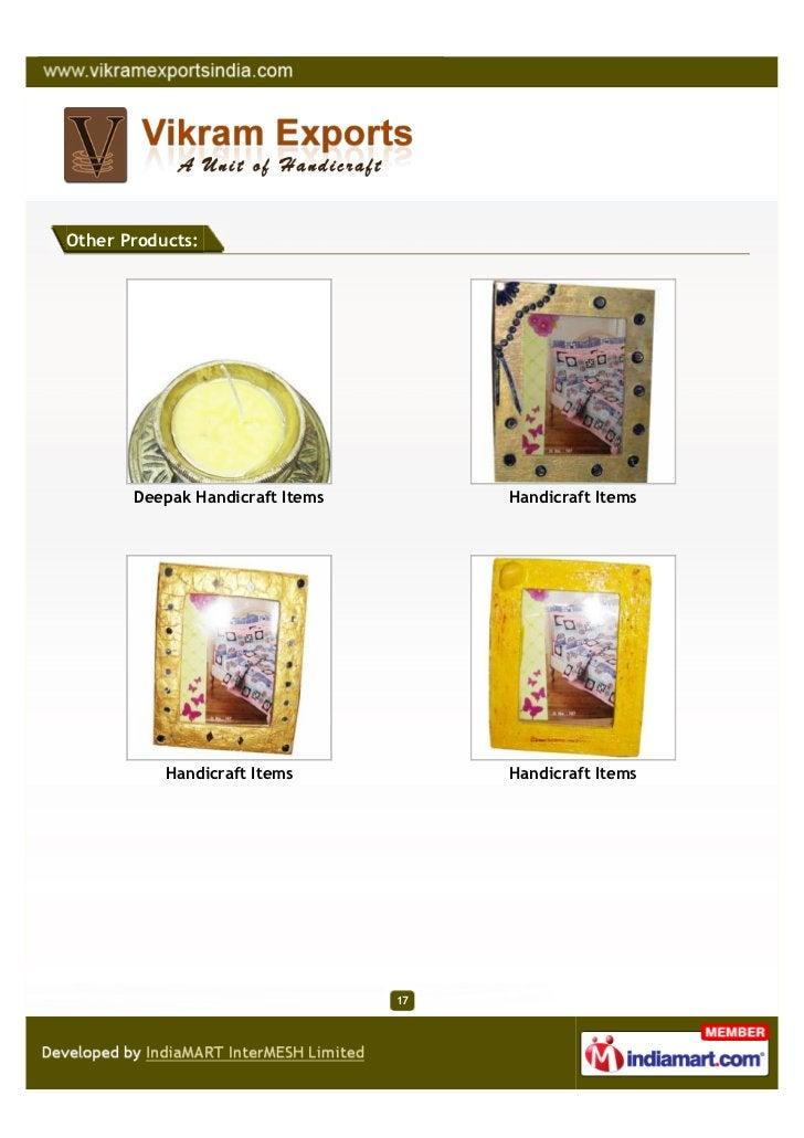 Other Products:       Deepak Handicraft Items        Handicraft Items           Handicraft Items           Handicraft Item...