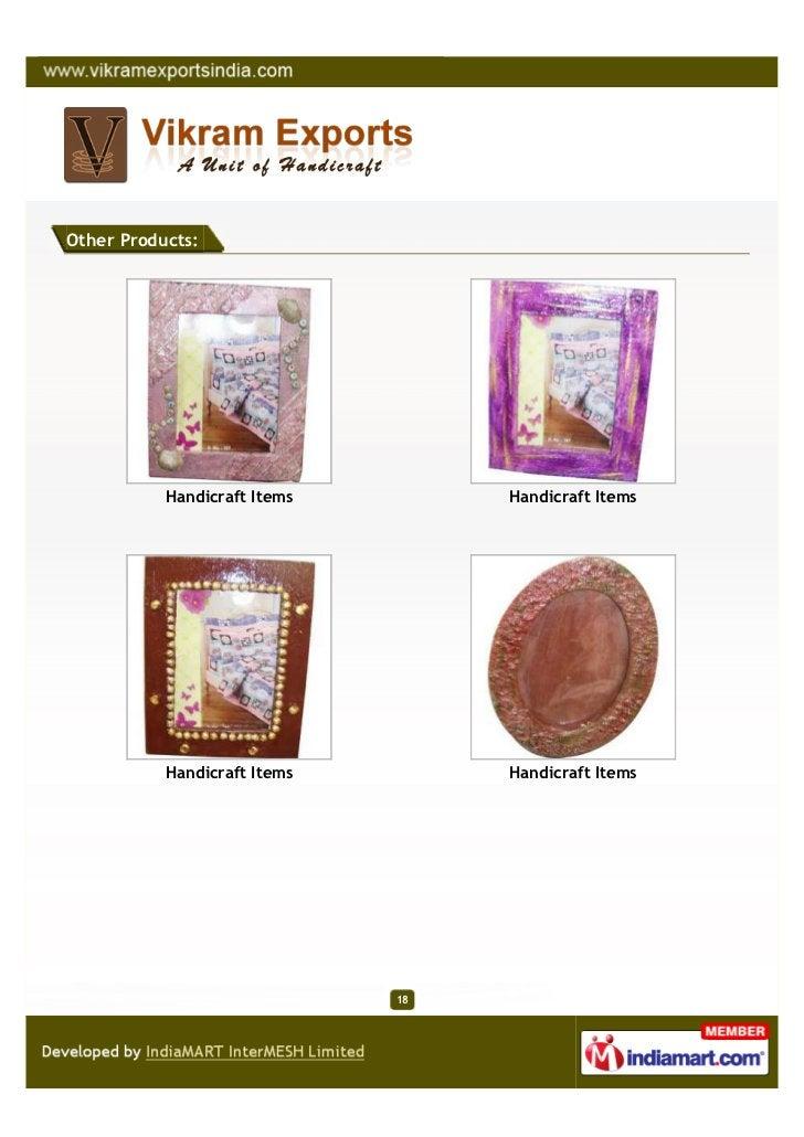 Other Products:           Handicraft Items        Handicraft Items           Handicraft Items        Handicraft Items     ...