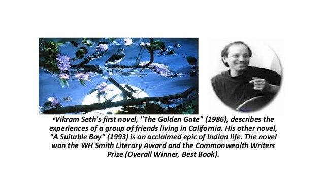 summary of the golden gate by vikram seth