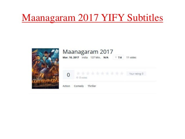 yts subtitles free download