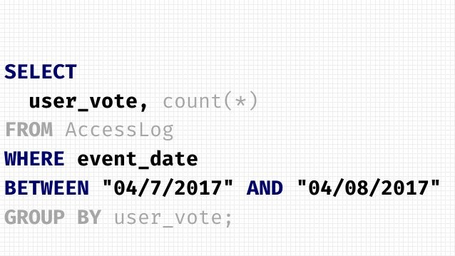 private static void countVotes(IMap<String, Vote> userVotes) { // execute the aggregation and print the result long countV...