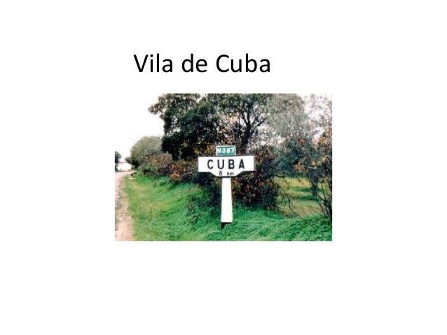 Vila de Cuba