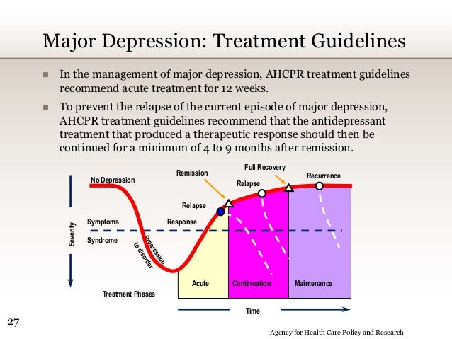 aps treatment guidelines for severe depression