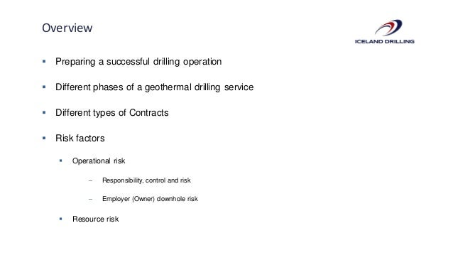 B3 - Geothermal Drilling Contracts