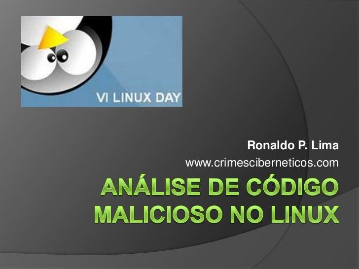 Ronaldo P. Limawww.crimesciberneticos.com