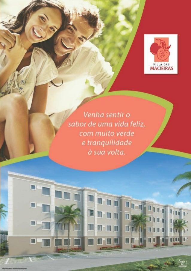 MRV Folder Vila das Macieiras   Jaboatão dos Guararapes - PE