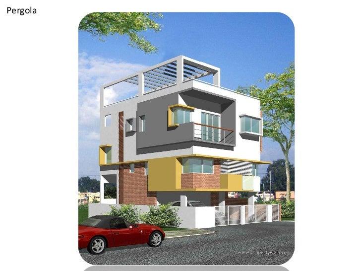 Villa House Front Elevation : Villa elevations