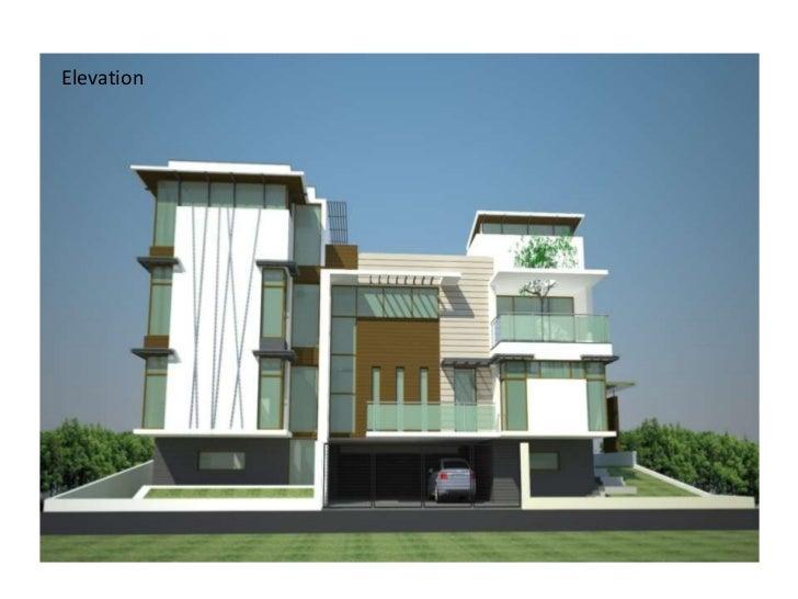 Villa Elevations