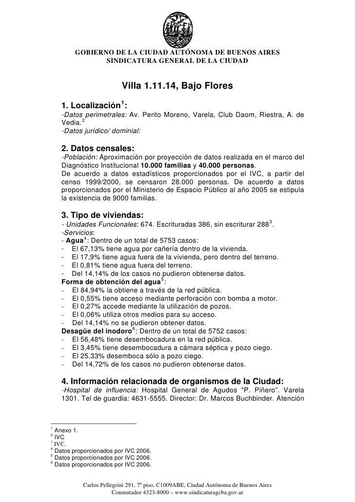 GOBIERNO DE LA CIUDAD AUTÓNOMA DE BUENOS AIRES                SINDICATURA GENERAL DE LA CIUDAD                            ...