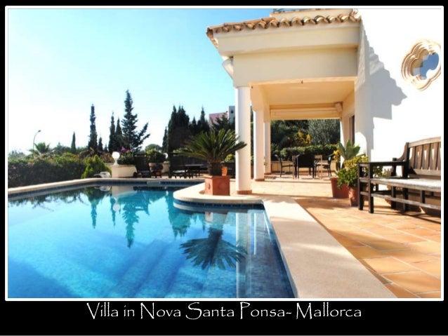 Villa in Nova Santa Ponsa- Mallorca