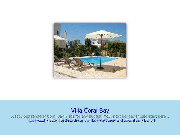 Villa Coral BayA fabulous range of Coral Bay Villas for any budget. Your next holiday should start here...        http://w...