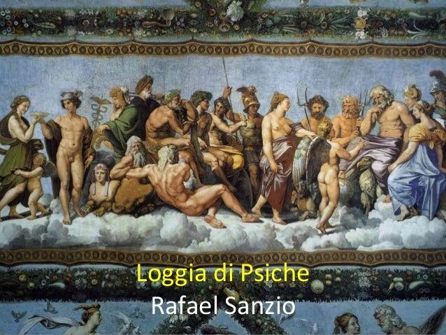 Loggia di Psiche Rafael Sanzio