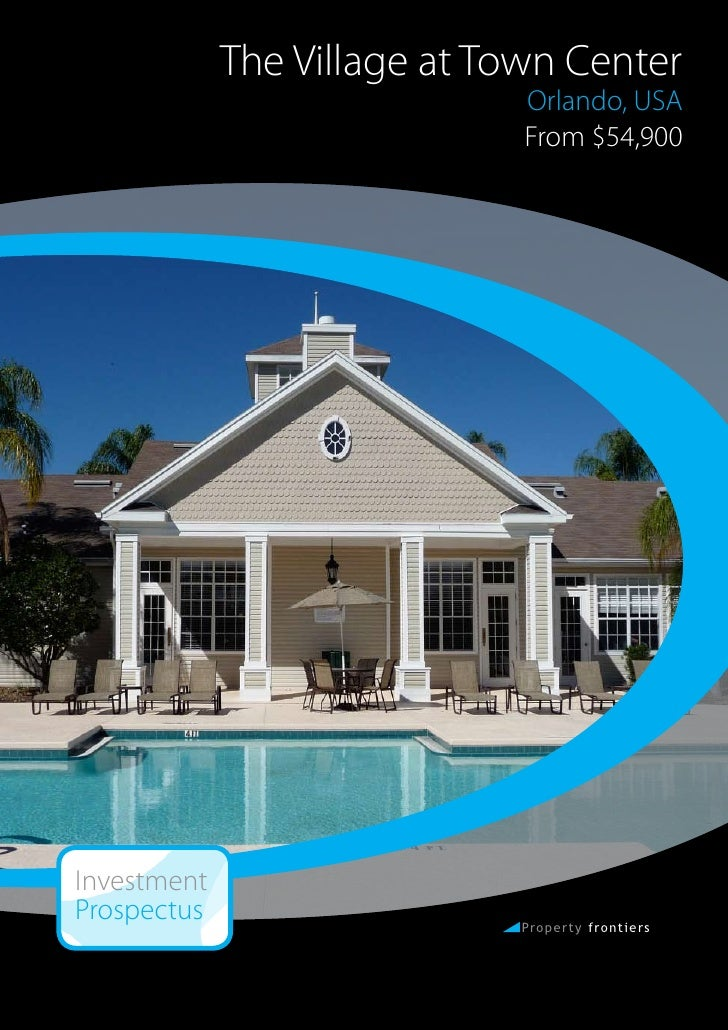 Village Town Center Davenport Florida Condos Investment Prospectus (P…