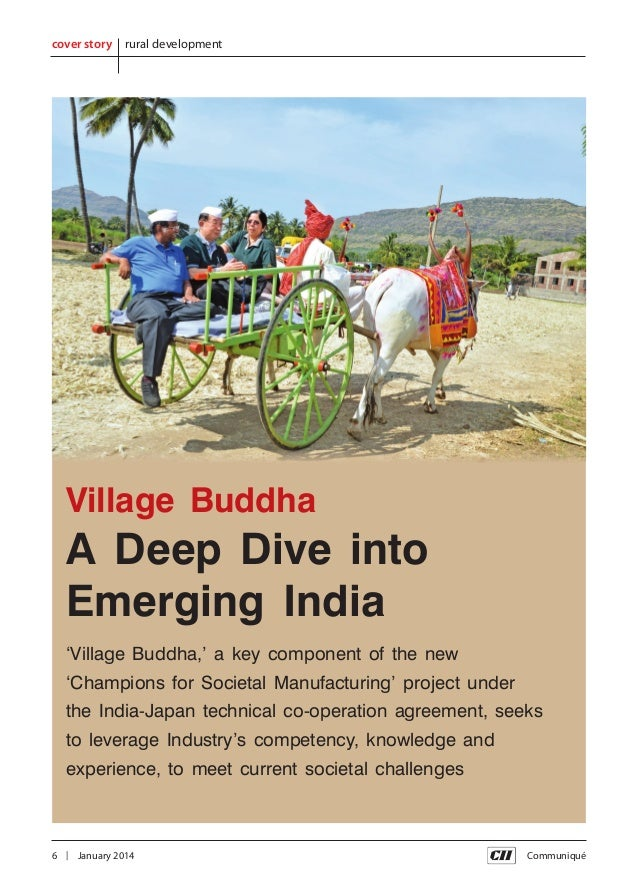 cover story  rural development  Village Buddha  A Deep Dive into Emerging India 'Village Buddha,' a key component of the n...