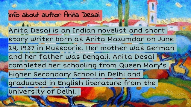 Village By The Sea By Anita Desai Pdf