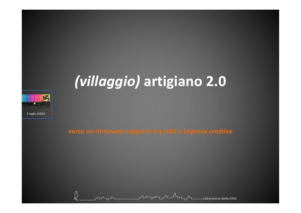 (villaggio)artigiano2.0                    (villaggio)artigiano2.0                    (villaggio) artigiano 2 0 2lugl...