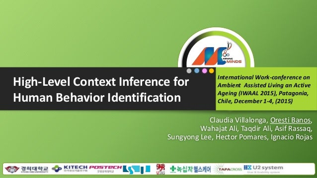 Claudia Villalonga, Oresti Banos, Wahajat Ali, Taqdir Ali, Asif Rassaq, Sungyong Lee, Hector Pomares, Ignacio Rojas Intern...