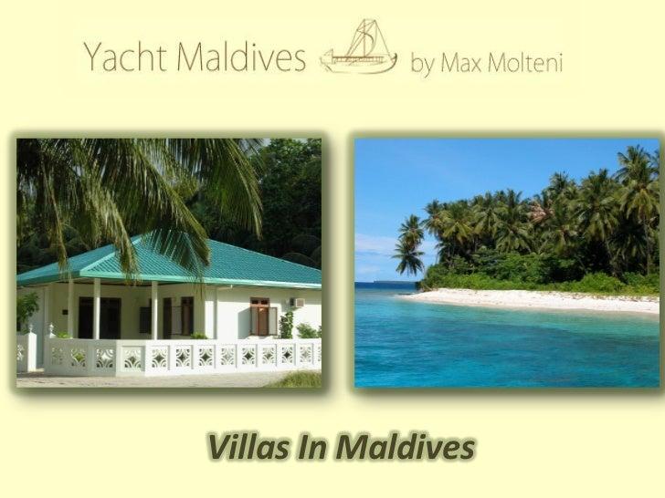 Villas In Maldives