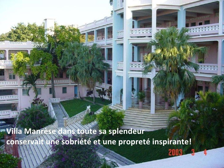 Villa manr se ha ti for Maison moderne haiti